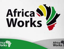 #52 para Logo Design for Africa Works por RobertoValenzi