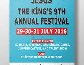 Nro 18 kilpailuun church festival poster käyttäjältä alchemoth