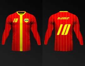 Nro 18 kilpailuun Design a soccer Jersey käyttäjältä Rhandyv