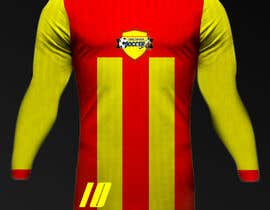 Nro 26 kilpailuun Design a soccer Jersey käyttäjältä Rhandyv