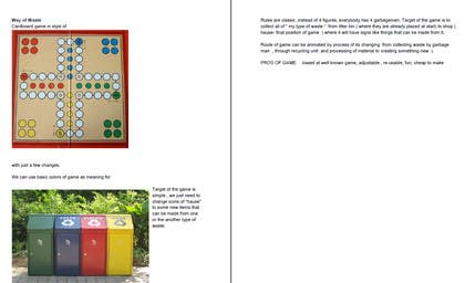 #10 for Idea for children game about recycling/ sustainable development by DactylGroup