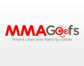 #105 para Design a Logo for MMAGoofs por Proud2becroat