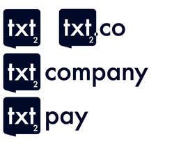 #92 for Logo Design for Txt2 Co. by garyjohnson