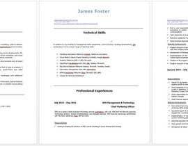 DulaniA tarafından Design & Update a Resume için no 5