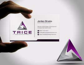 #88 for Design some Business Cards for Trice by Psynsation