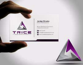 #89 for Design some Business Cards for Trice by Psynsation