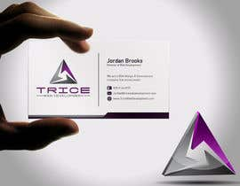 #90 for Design some Business Cards for Trice by Psynsation
