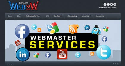Graphic Design Contest Entry #24 for Design a Banner for website slider - Webmaster Services