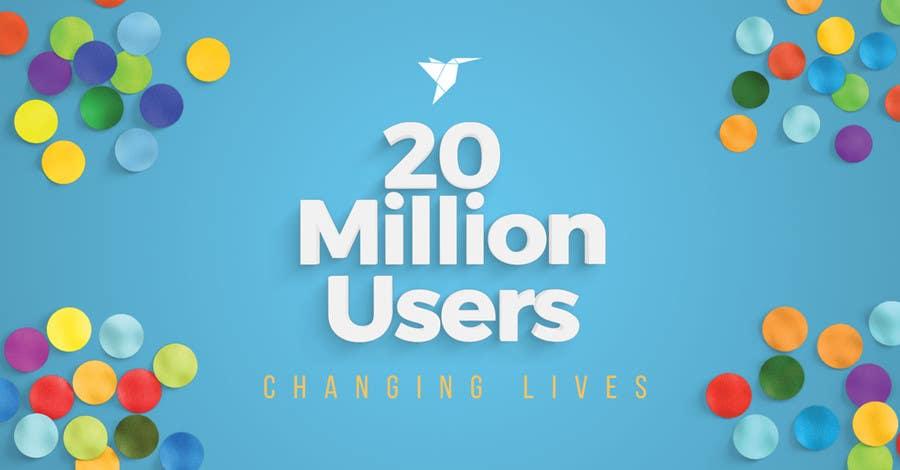 Contest Entry #93 for Design Contest: Freelancer.com Hits 20M Users
