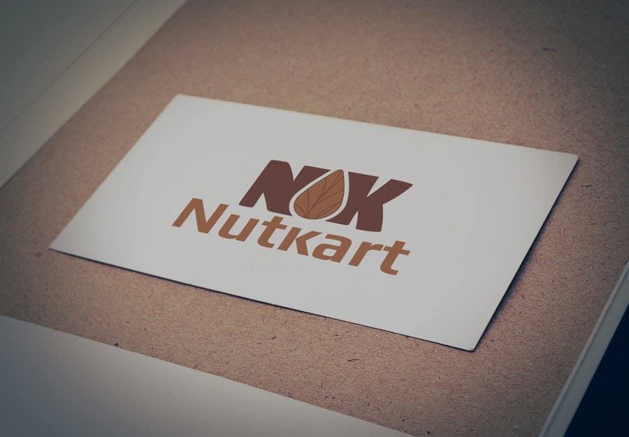 Kilpailutyö #36 kilpailussa Design a logo for NutKart