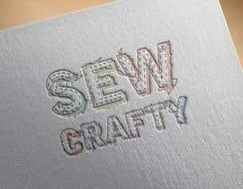 Nro 3 kilpailuun Logo for Sew Crafty käyttäjältä ldelrio0