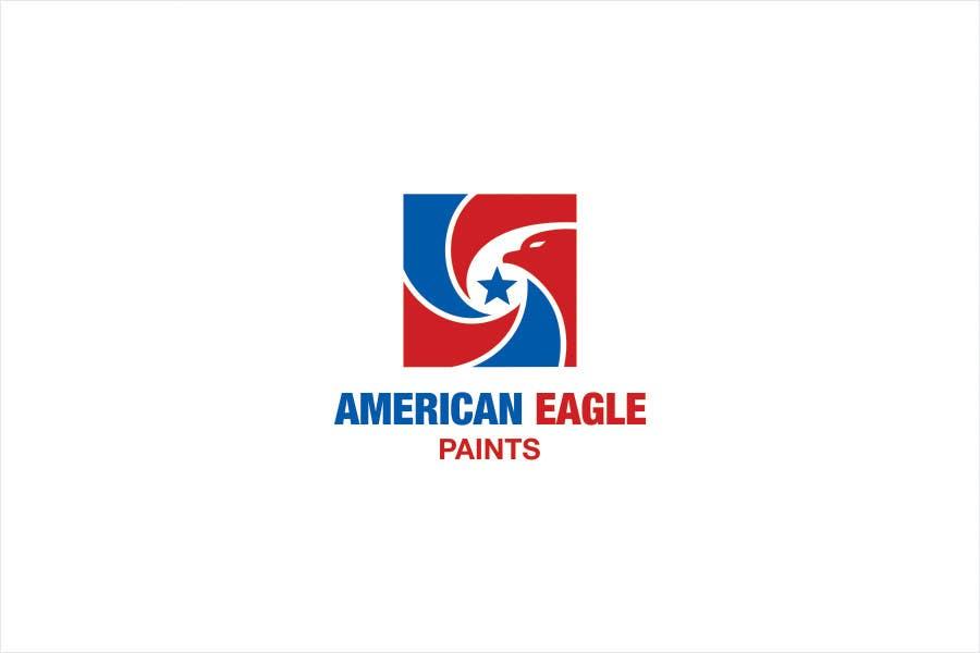 Kilpailutyö #70 kilpailussa Design a Logo for AMERICAN EAGLE PAINTS