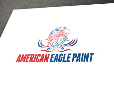 #59 para Design a Logo for AMERICAN EAGLE PAINTS por usmanarshadali