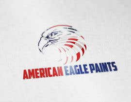 #24 for Design a Logo for AMERICAN EAGLE PAINTS by LogoFreelancers