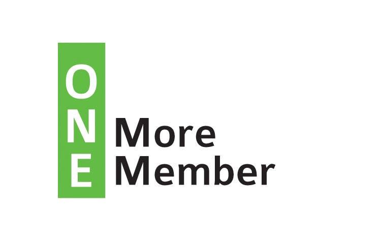 Penyertaan Peraduan #54 untuk Logo Design for One More Member (onemoremember.org)