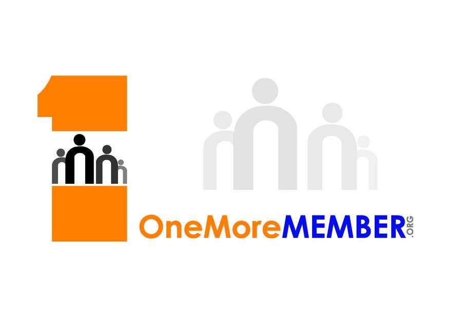 Kilpailutyö #131 kilpailussa Logo Design for One More Member (onemoremember.org)