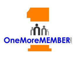 #129 untuk Logo Design for One More Member (onemoremember.org) oleh Muhammadhaneefa