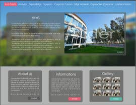 kropekk tarafından Design a Website Mockup for  Education Center için no 7