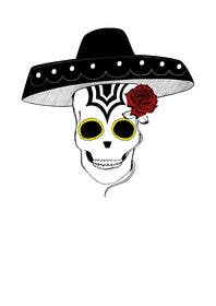 #26 for Day of the Dead - Sugar Skull Design / Cartoon / Illustration by maximo20858