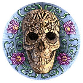 #30 for Day of the Dead - Sugar Skull Design / Cartoon / Illustration by brendonfarley