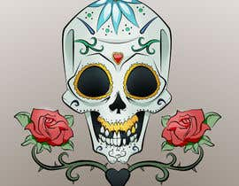 #27 cho Day of the Dead - Sugar Skull Design / Cartoon / Illustration bởi fcontreras86