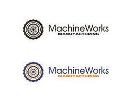 Nro 4 kilpailuun MachineWorks Manufacturing Logo käyttäjältä ikari6