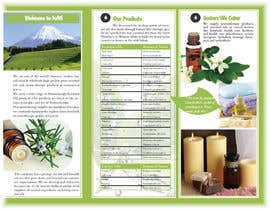 #14 for Design a Brochure for Essential Oil/Aromatherapy af marcia2