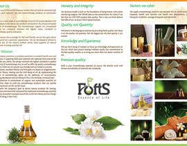#7 for Design a Brochure for Essential Oil/Aromatherapy af sutanuparh