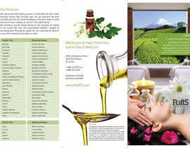 nº 10 pour Design a Brochure for Essential Oil/Aromatherapy par sasfdo