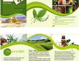 nº 5 pour Design a Brochure for Essential Oil/Aromatherapy par fabrirebo