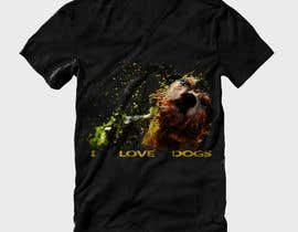 rrathore007 tarafından Design a T-Shirt for Dog lovers & Fitness lovers için no 27