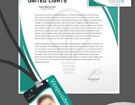 ELDJ7 tarafından Design some Stationery for a lighting company için no 3