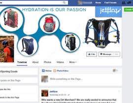 Nro 6 kilpailuun Design a Facebook landing page käyttäjältä dymetrios