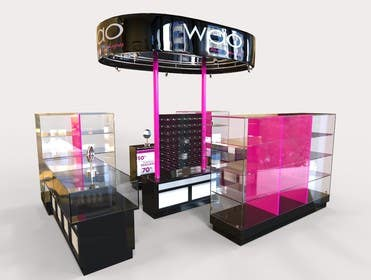 sevstokrator tarafından Design a Point of Sale Kiosk for a Jewelry brand mid-price için no 10