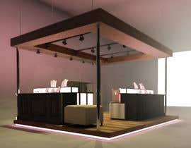 Nro 19 kilpailuun Design a Point of Sale Kiosk for a Jewelry brand mid-price käyttäjältä filipestorch
