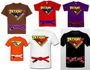 T-shirt Design for Tatami Fightwear Ltd için Graphic Design20 No.lu Yarışma Girdisi