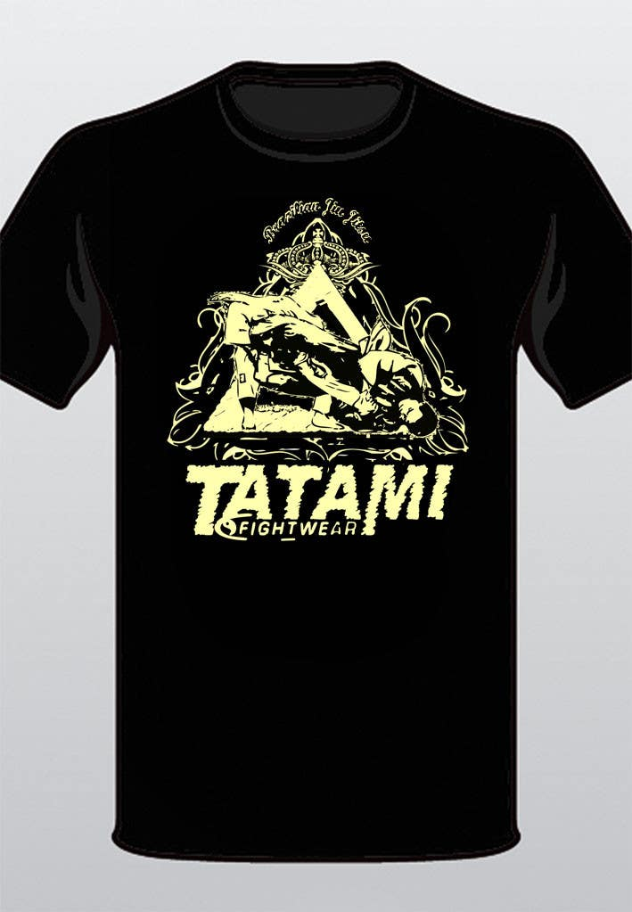 Penyertaan Peraduan #47 untuk T-shirt Design for Tatami Fightwear Ltd