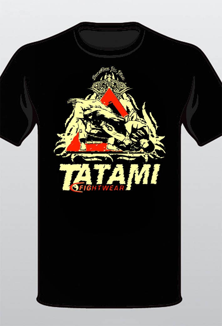 Contest Entry #48 for T-shirt Design for Tatami Fightwear Ltd