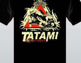 #48 para T-shirt Design for Tatami Fightwear Ltd por Minast