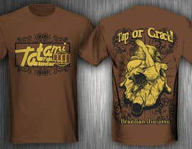#71 para T-shirt Design for Tatami Fightwear Ltd por jabstraight