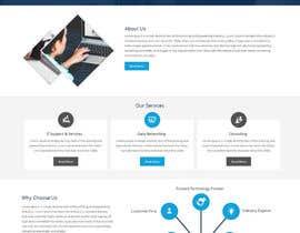 zaxsol tarafından Build a Website - Network / IT Consulting Company için no 22
