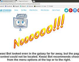 rm001 tarafından Develop a creative 404 page için no 2