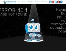 darrindealmedia tarafından Develop a creative 404 page için no 10
