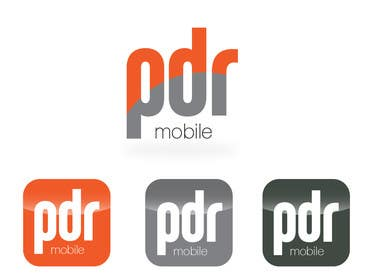 #131 for Design a Logo for PDR Mobile by carlosbatt