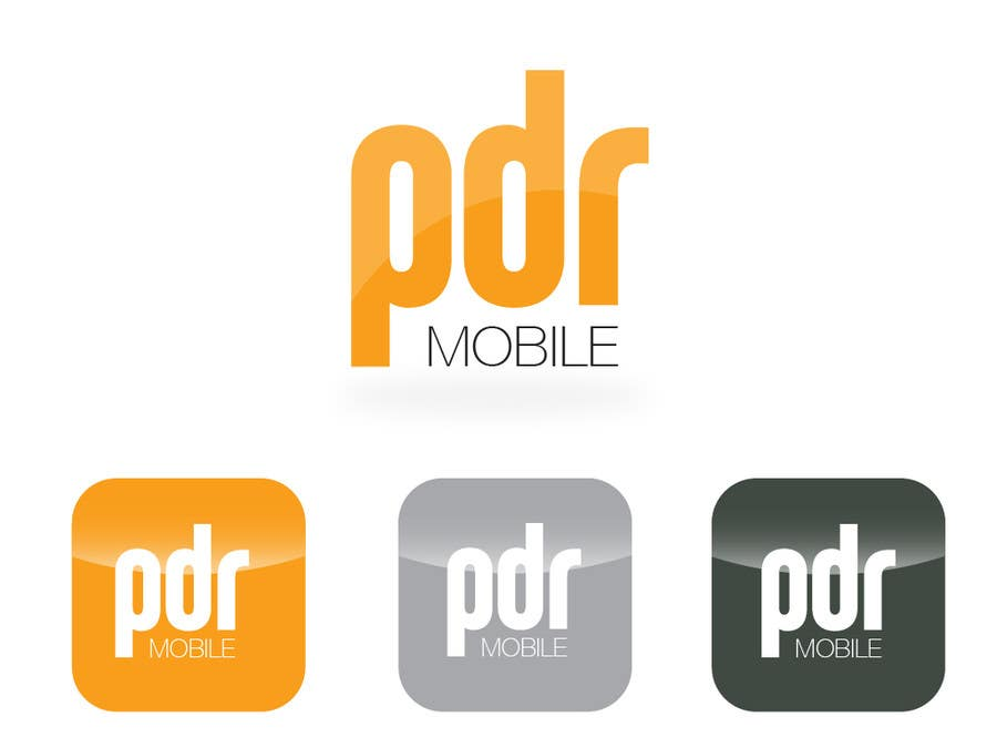 #132 for Design a Logo for PDR Mobile by carlosbatt
