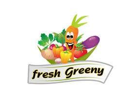 Nro 14 kilpailuun Design a Logo for our Vegetable shop käyttäjältä Roma1611