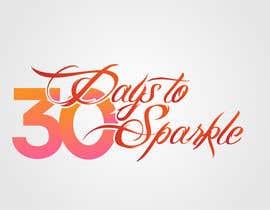 Nro 11 kilpailuun Design the '30 Days to Sparkle' Logo käyttäjältä dareerahmadmufti