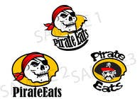 "Contest Entry #16 for Design a Logo for ""Pirate"" themed food blog. Argggh!"