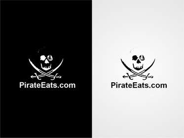 "#10 for Design a Logo for ""Pirate"" themed food blog. Argggh! by cristinandrei"