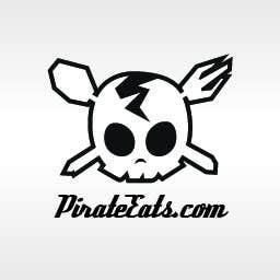 "#13 for Design a Logo for ""Pirate"" themed food blog. Argggh! by kraphic"